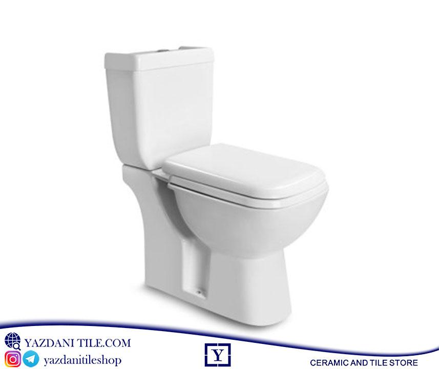 توالت فرنگی مدل الگا فروشگاه آنلاین کاشی و سرامیک و کالایی بهداشتی ساختمانی یزدانی