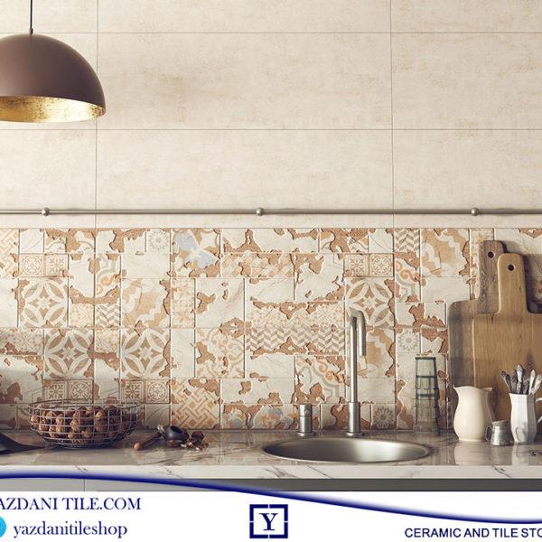 کاشی عقیق دیواری نارسیس 90*30 فروشگاه آنلاین کاشی و سرامیک یزدانی