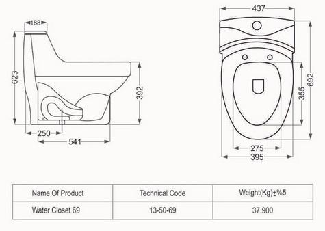 توالت فرنگی مروارید مدل موندیال فروشگاه آنلاین کاشی و سرامیک و کالایی بهداشتی ساختمانی یزدانی