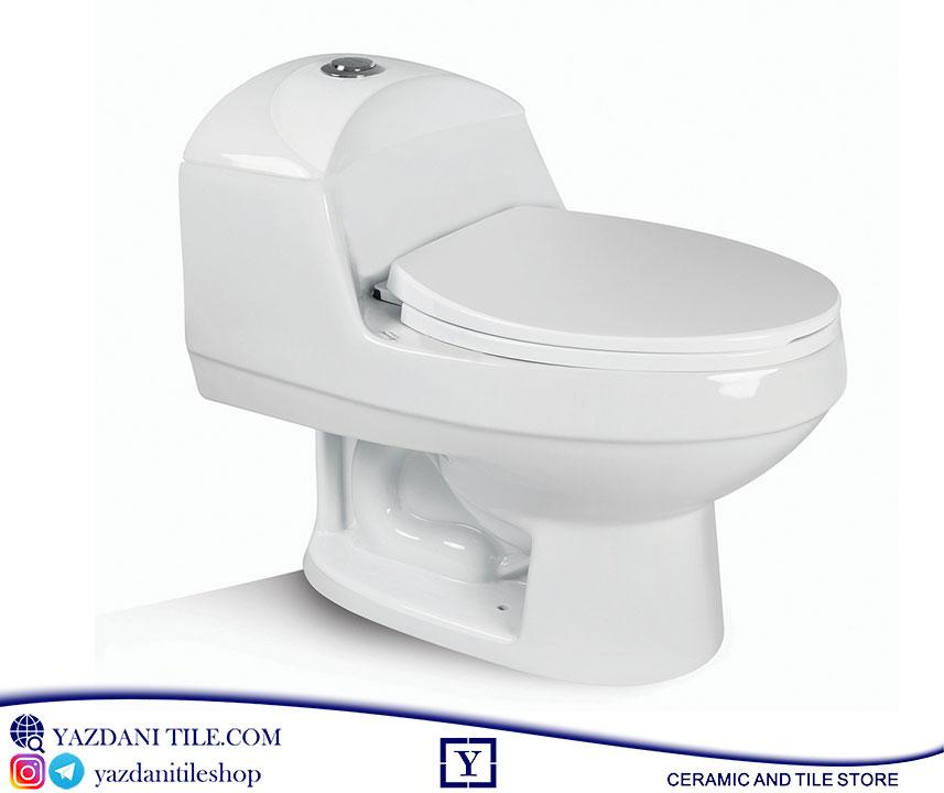 توالت فرنگی مدل الگانت فروشگاه آنلاین کاشی و سرامیک و کالایی بهداشتی ساختمانی یزدانی