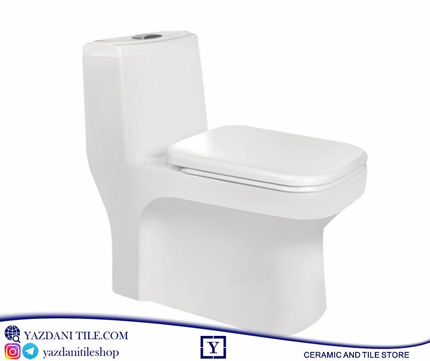 توالت فرنگی مروارید مدل ولگا فروشگاه آنلاین کاشی و سرامیک و کالایی بهداشتی ساختمانی یزدانی