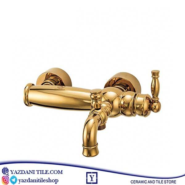 شیر قهرمان مدل آنتیک حمام طلایی