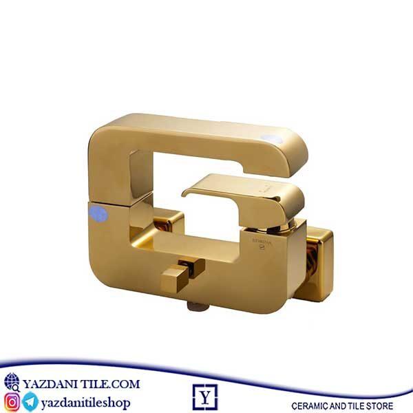 خریدشیرآلات ادرینا مدل جی طلایی از فروشگاه یزدانی تایل