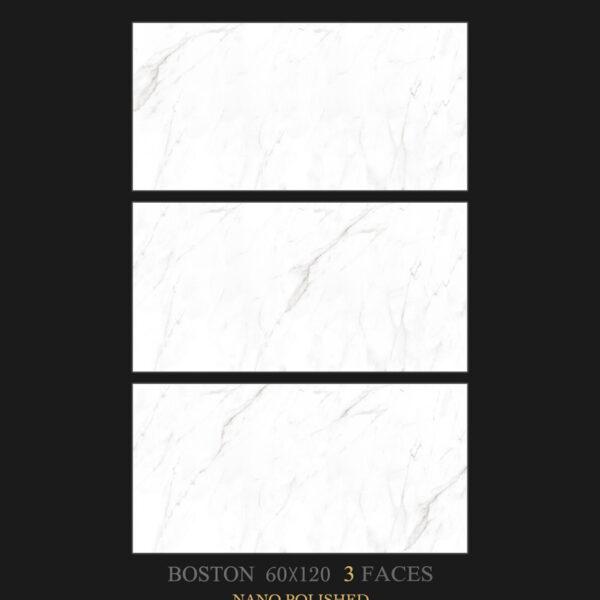 خرید سرامیک آبادیس مدل بوستون سفید سایز 120*60 از فروشگاه یزدانی تایل
